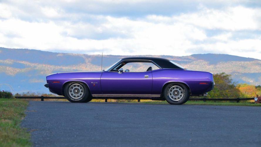 1970 PLYMOUTH BARRACUDA GRAN COUPE cars 383 wallpaper