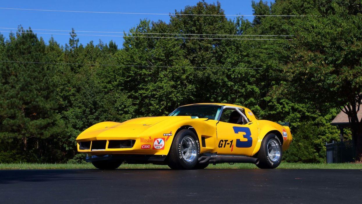 1969 CHEVROLET CORVETTE (c3) RACE CARs wallpaper
