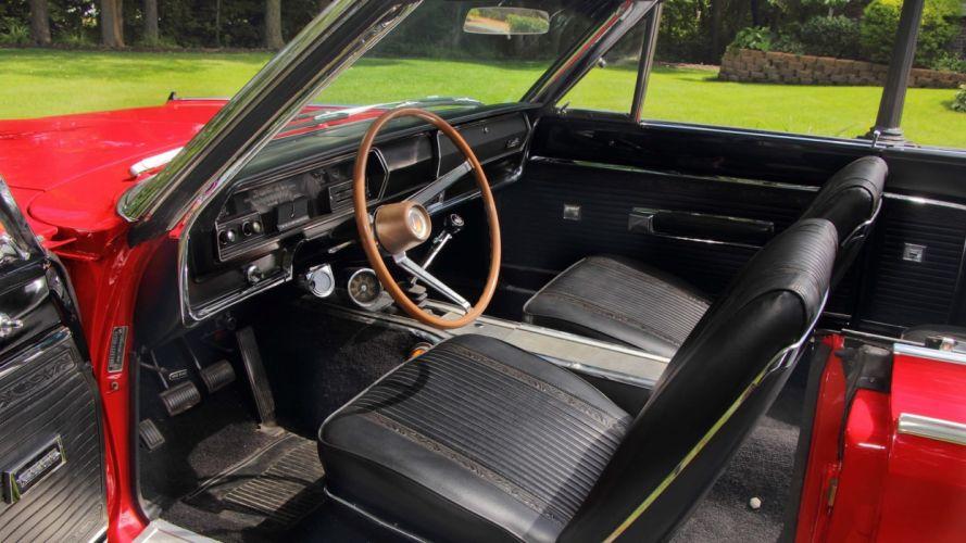 1966 PLYMOUTH HEMI SATELLITE CONVERTIBLE classic cars red wallpaper