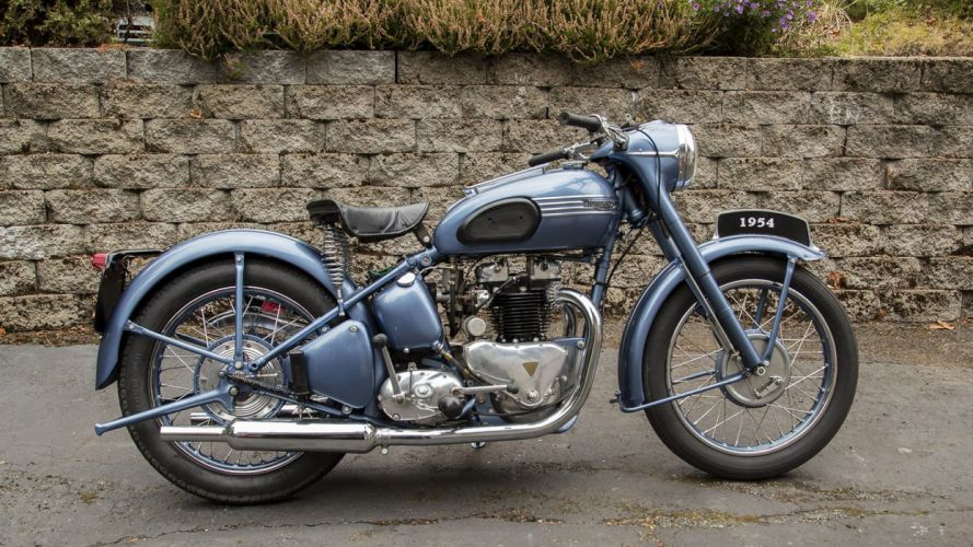 1954 TRIUMPH THUNDERBIRD motorcycles wallpaper
