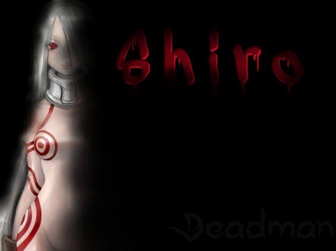 shiro deadman wonderland anime personage girl psicopat assassin strike blood half wallpaper