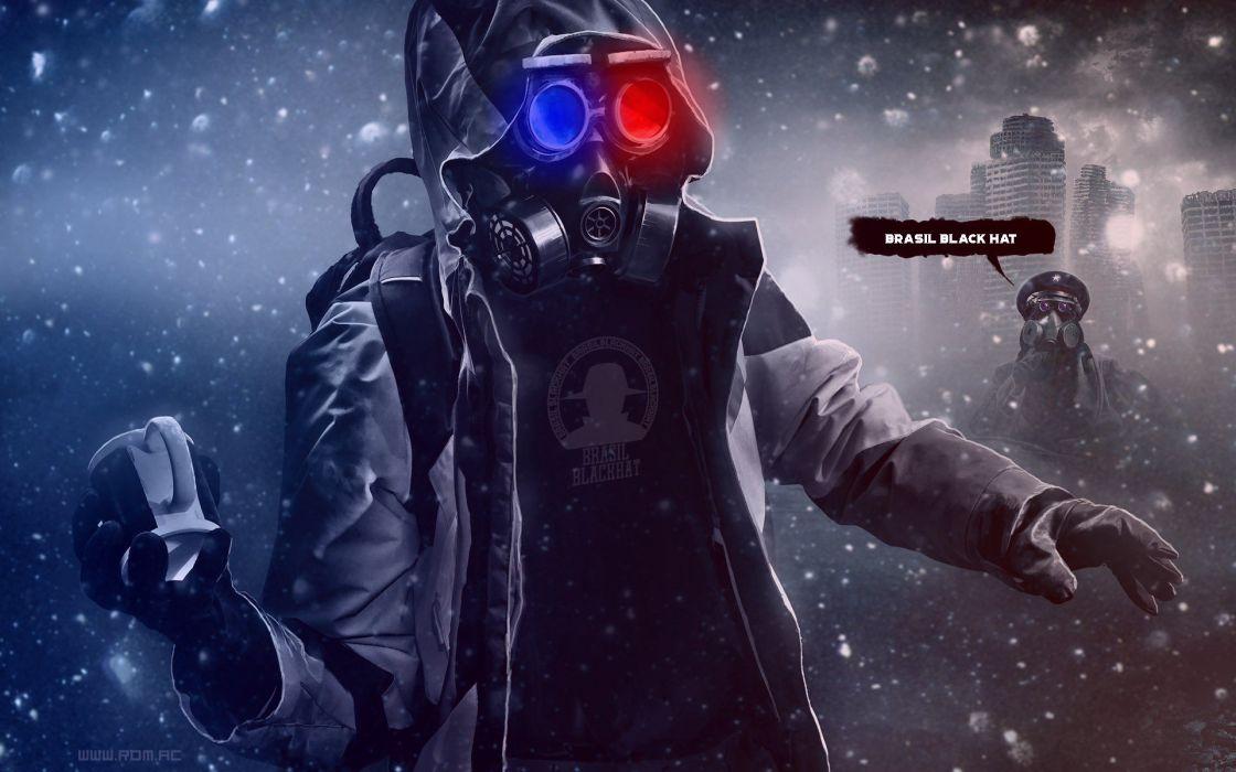mask war man brasil blackhat grenade soldier contamination danger wallpaper