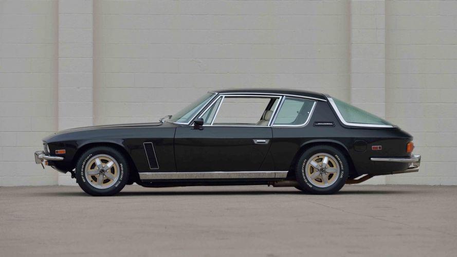 1973 JENSEN INTERCEPTOR cars black wallpaper