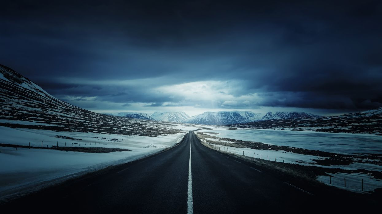 icelands ring road-3840x2160 wallpaper