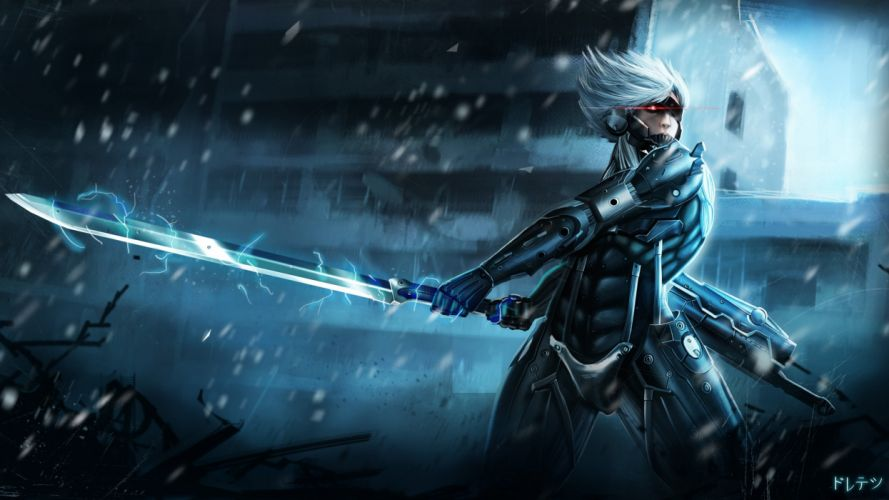 metal gear rising raiden-3840x2160 wallpaper
