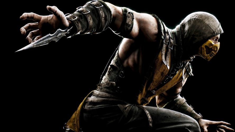 mortal kombat x scorpion-3840x2160 wallpaper