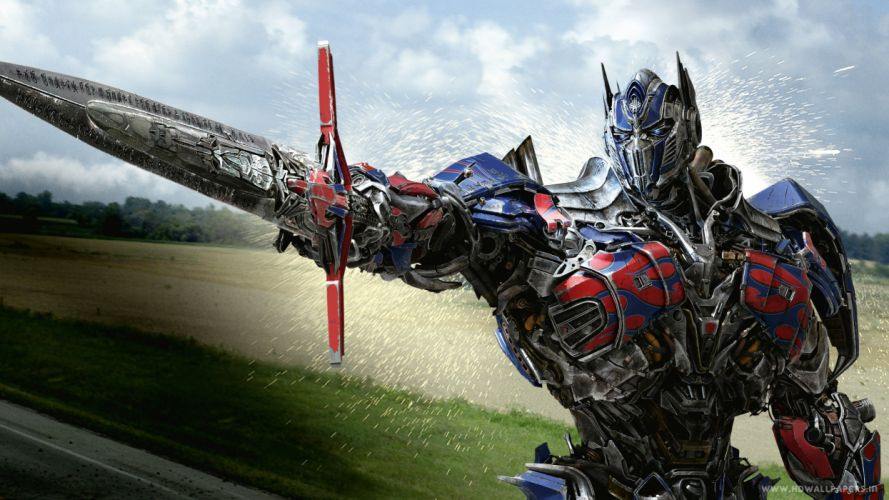 optimus prime in transformers 4 age of extinction-3840x2160 wallpaper