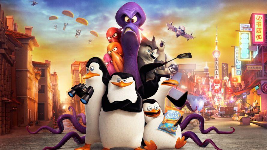 penguins of madagascar movie-3840x2160 wallpaper