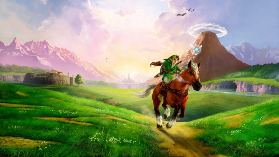 the legend of zelda ocarina of time-3840x2160 wallpaper