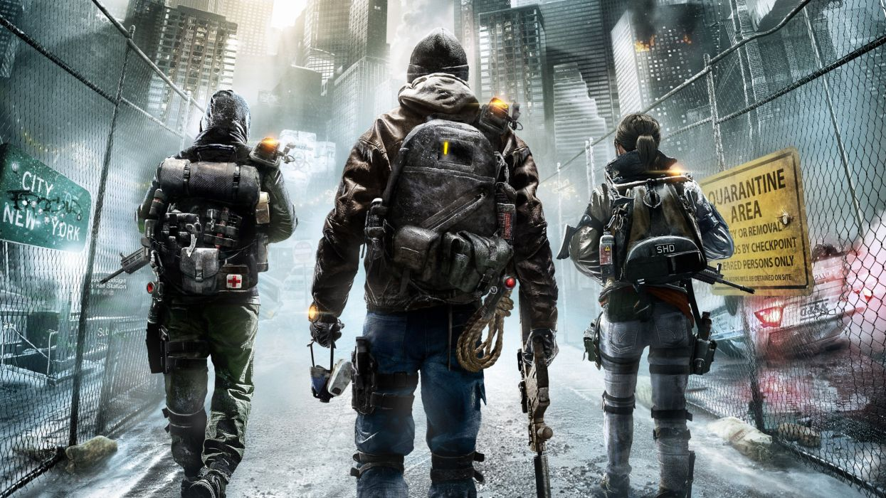 tom clancys the division 2015 game-3840x2160 wallpaper