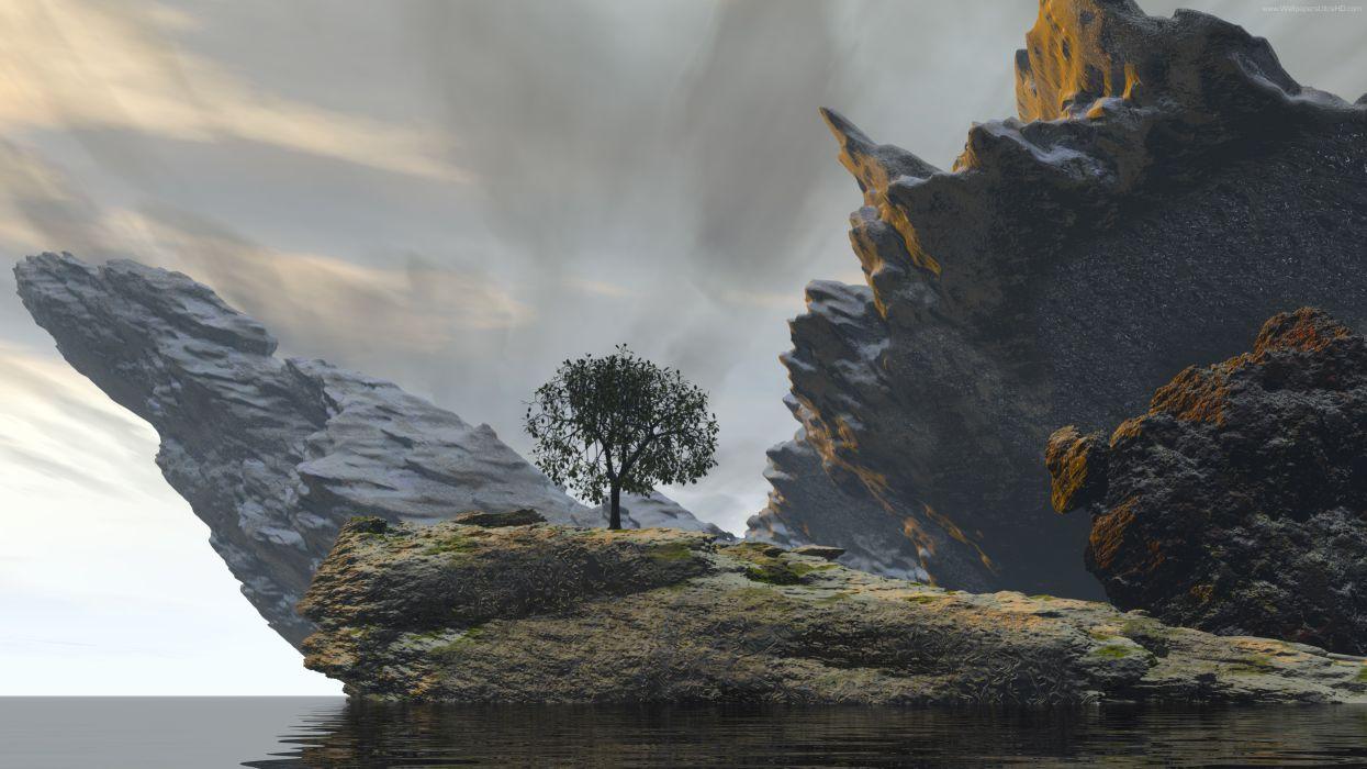 landscape digital photography 8K wallpaper