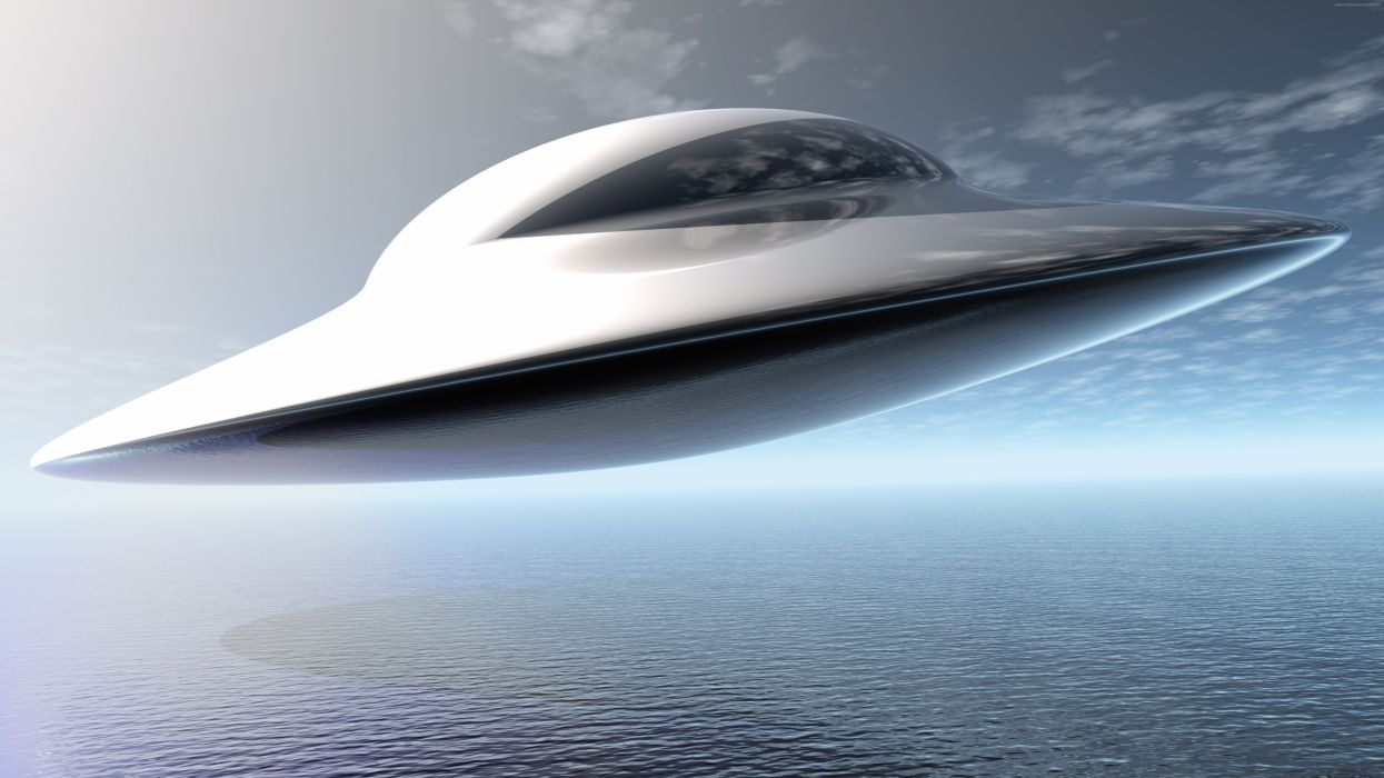 Ufo Flying saucer7680x4320 wallpaper