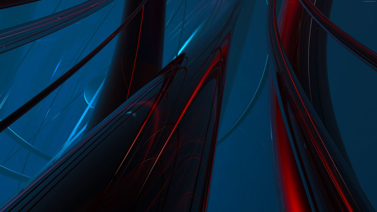 abstract red net7680 wallpaper