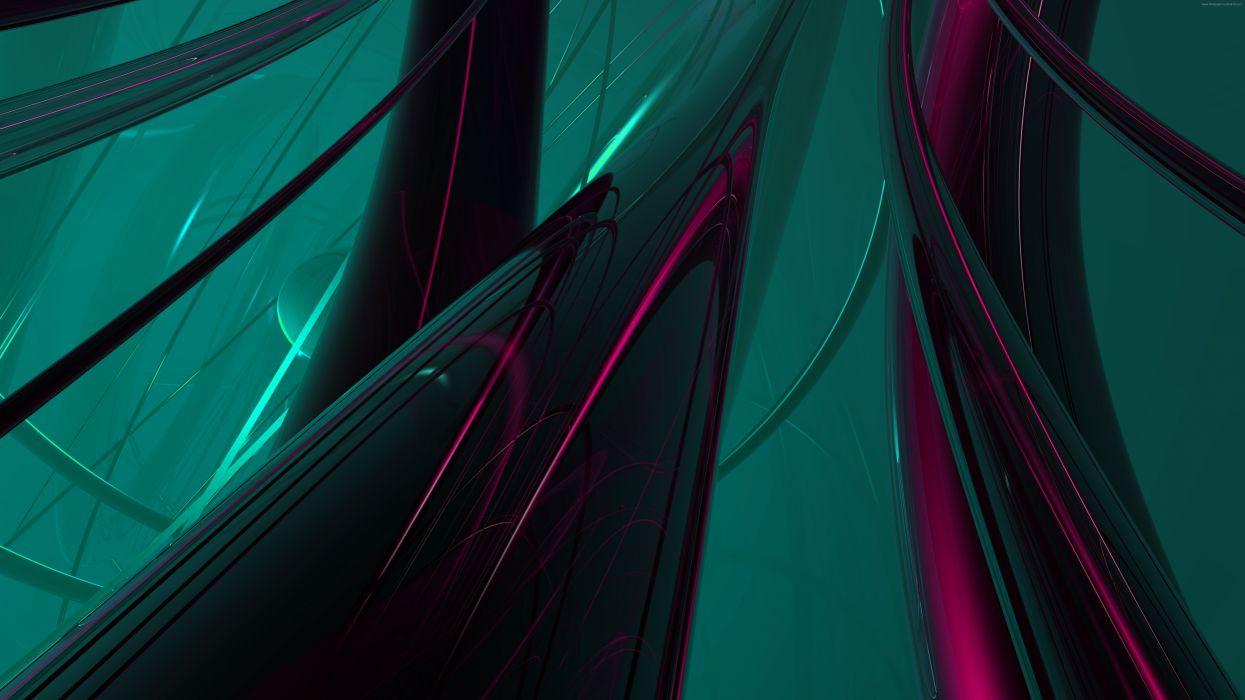 abstract green+purple7680 wallpaper