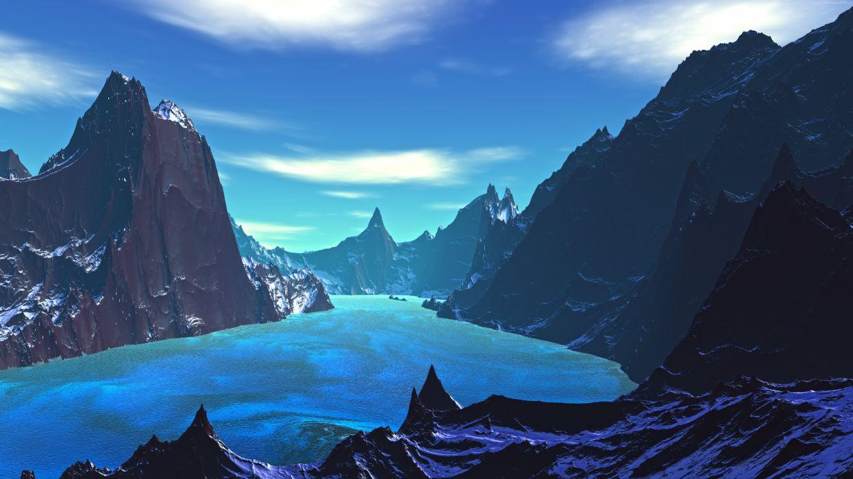 blue planet7680x4320 wallpaper