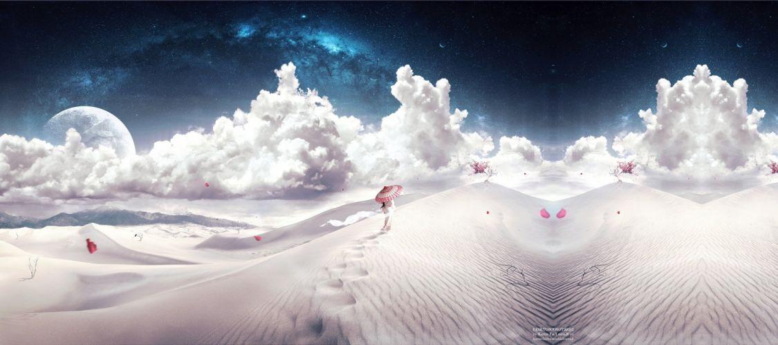 Desert Heaven II wallpaper