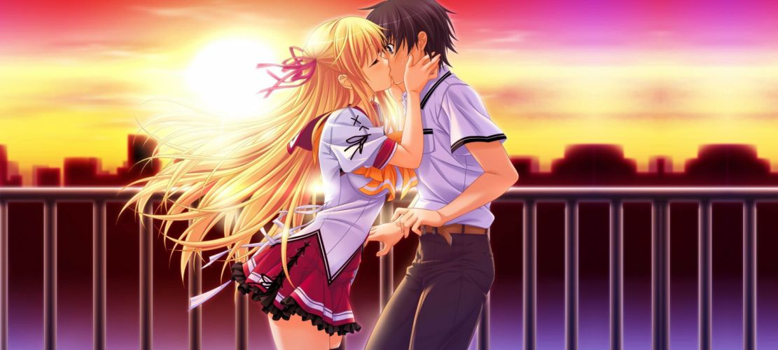 KISSING wallpaper