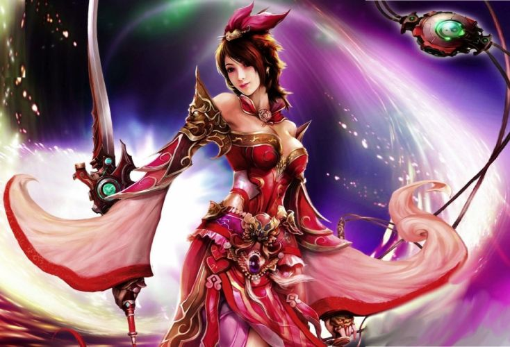 beautiful-asian-woman-warrior-fantasy-hd-wallpaper-1920x1200-15192 wallpaper