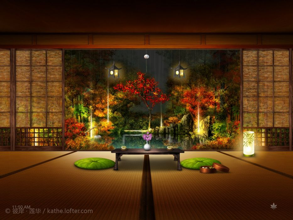 JAPANESE INTERIOR 001 wallpaper