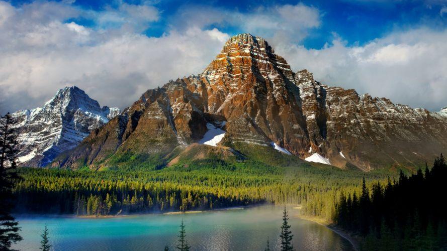 beautiful scenery mountains lake nature 93318 1920x1080 wallpaper