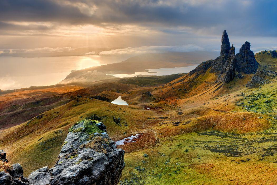 Isle Of Sky Scotland Hd Wallpaper Frank Winkler Wallpaper