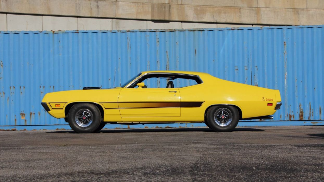 Ford Torino Cobra Fastback  Cars Yellow Wallpaper