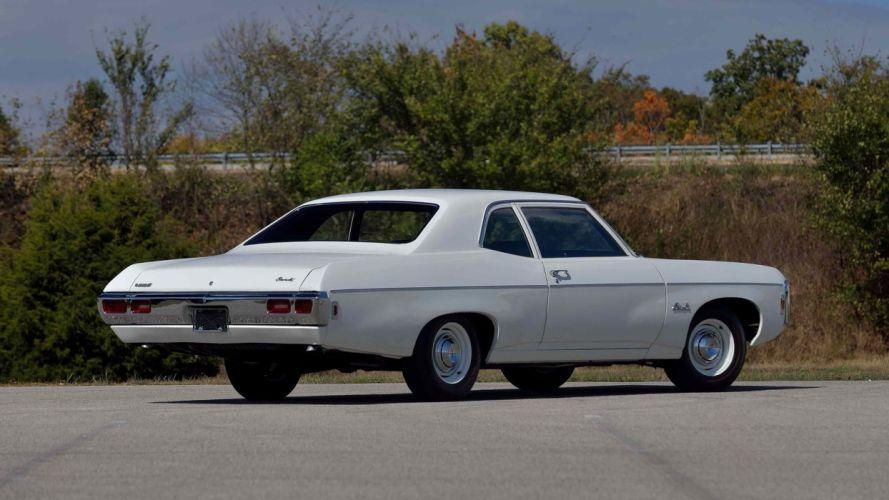 1969 CHEVROLET BEL AIR SEDAN cars white L72 427 wallpaper