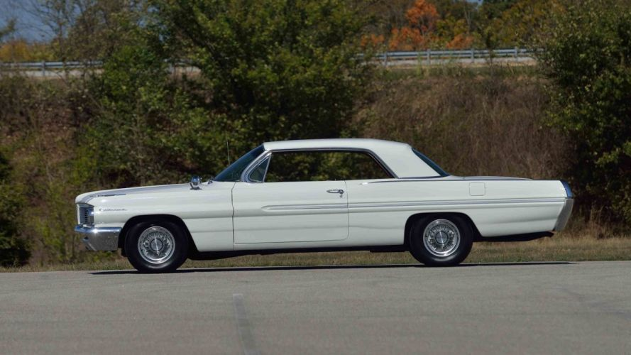1962 PONTIAC CATALINA HARDTOP cars white wallpaper