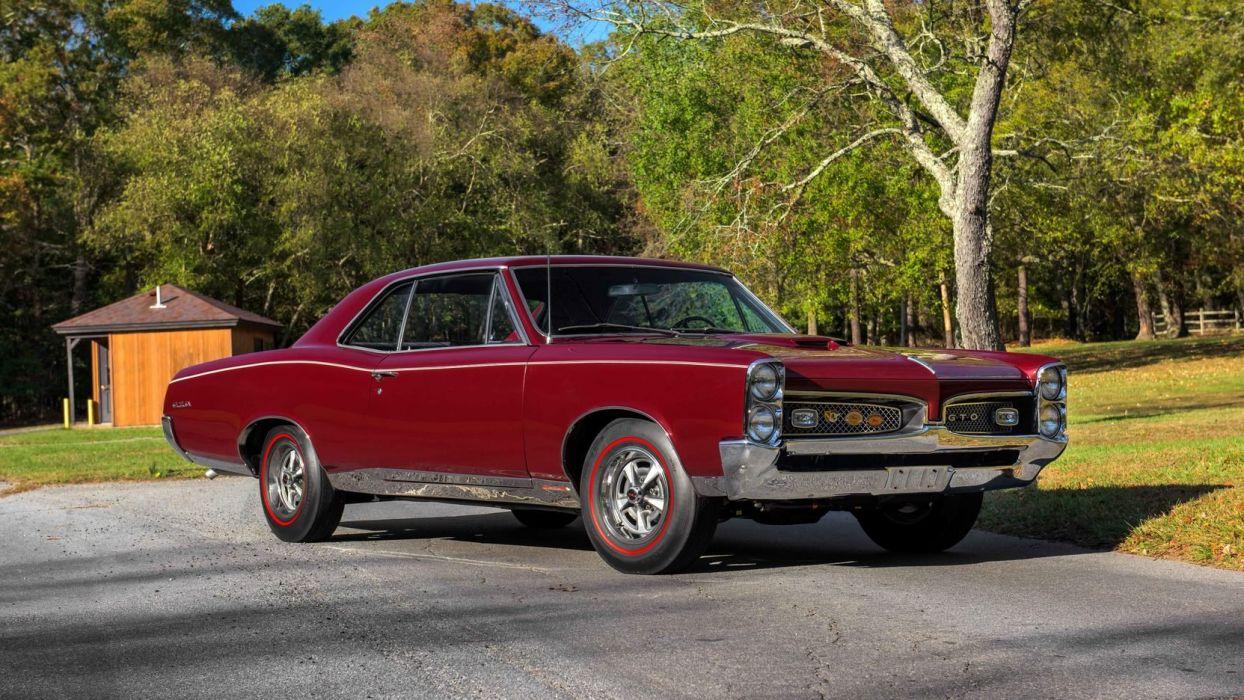 1967 Pontiac Gto Cars Burgundy Wallpaper 1664x936 1035442 Wallpaperup