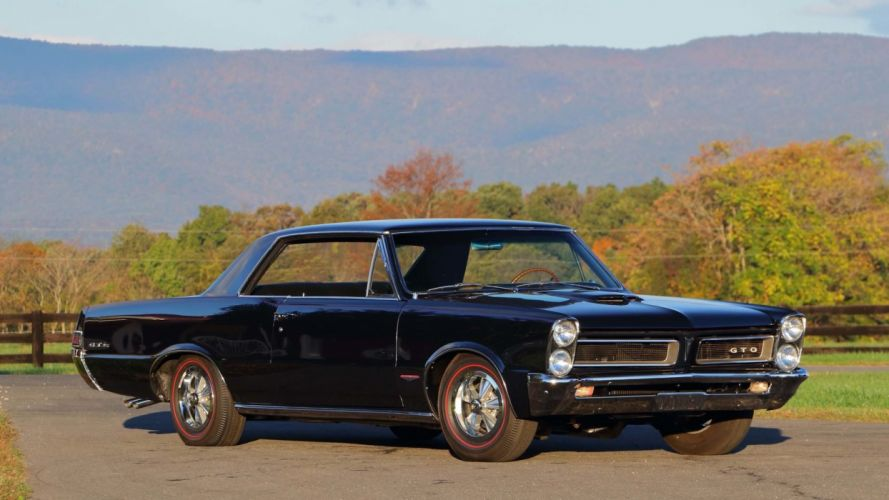 1965 Pontiac GTO cars wallpaper