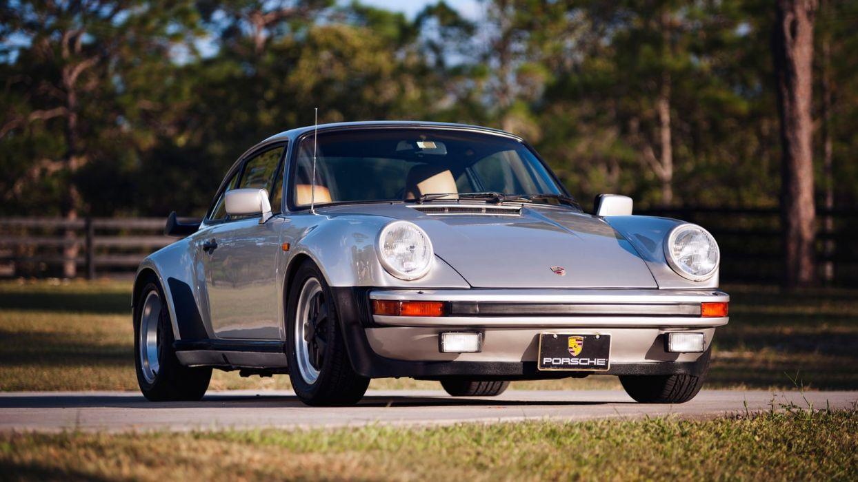 1981 PORSCHE 911 930 TURBO cars silver wallpaper