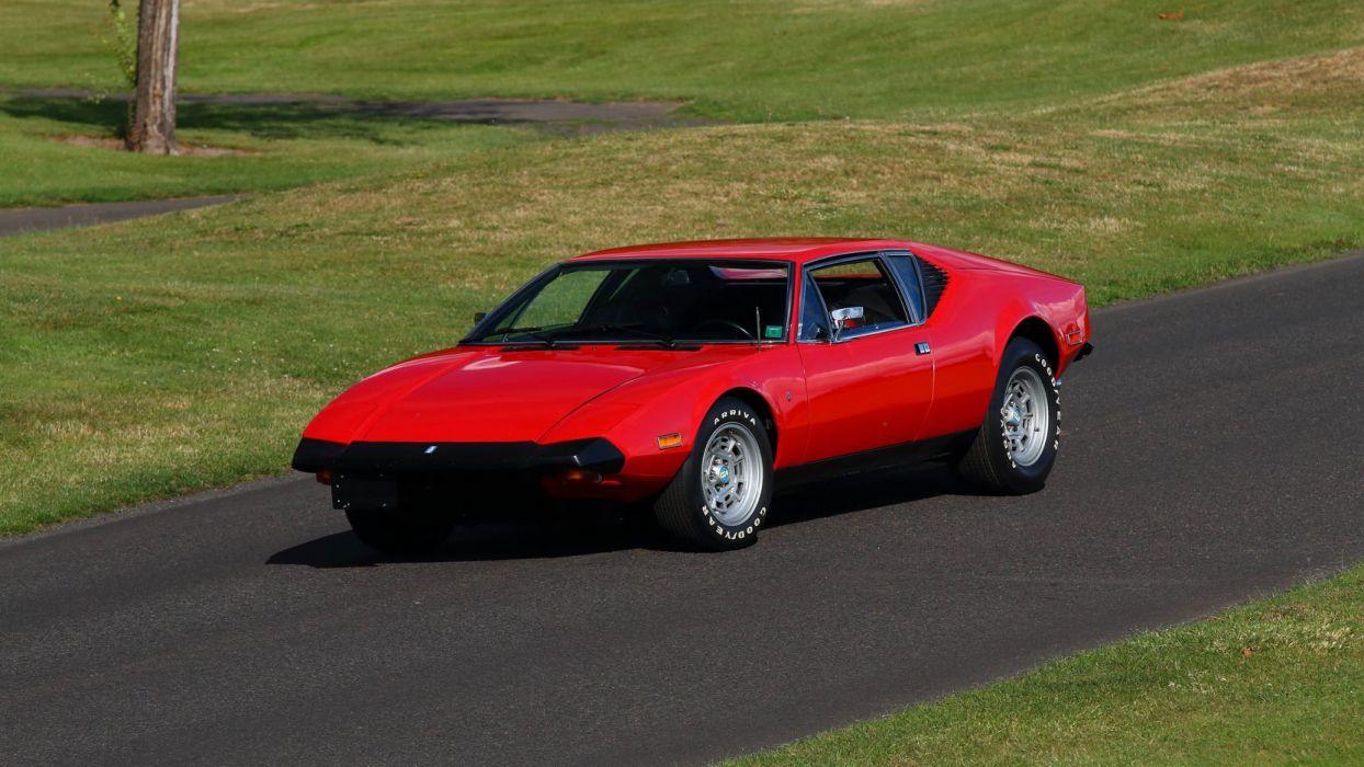 1974 DE-TOMASO PANTERA cars coupe red wallpaper