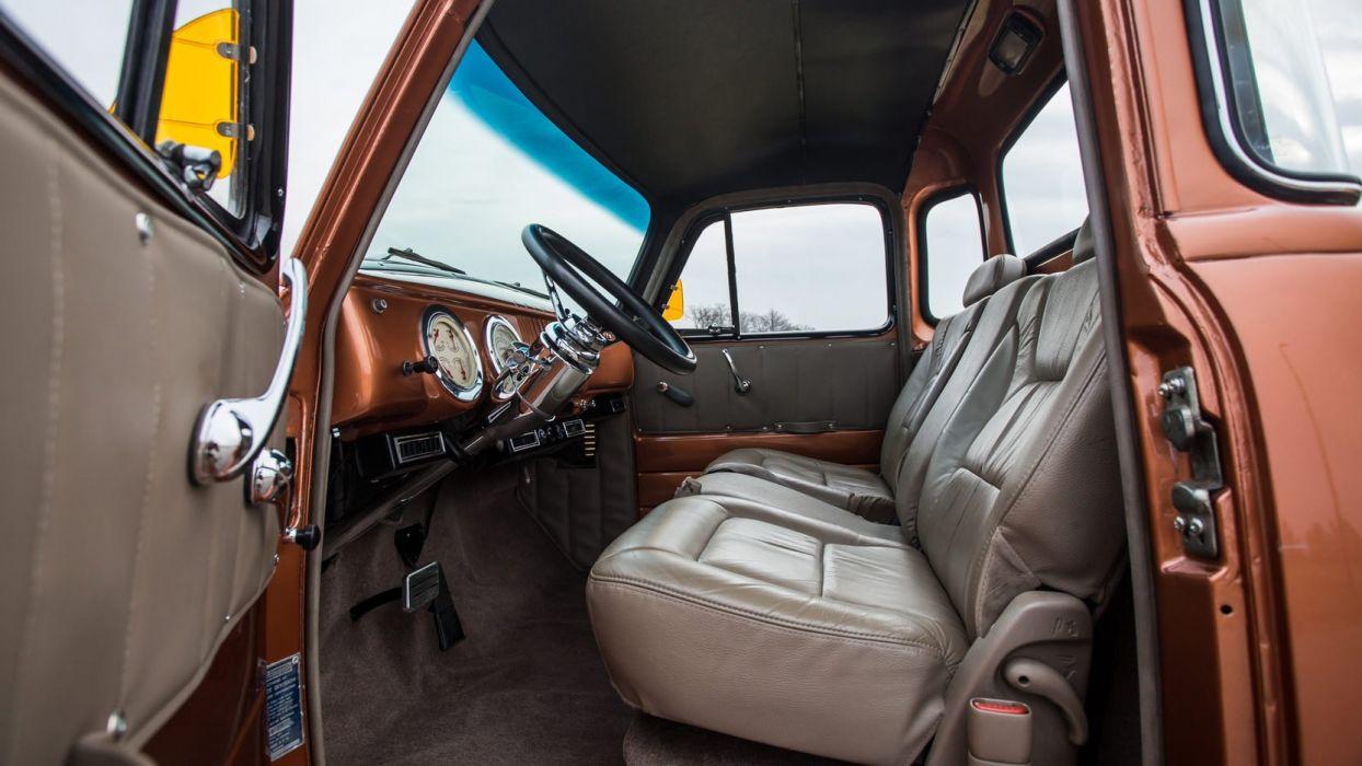 1954 CHEVROLET 3100 PICKUP truck Copper wallpaper