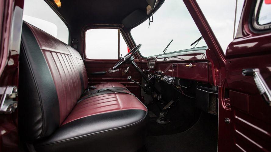 1954 FORD F100 PICKUP truck wallpaper