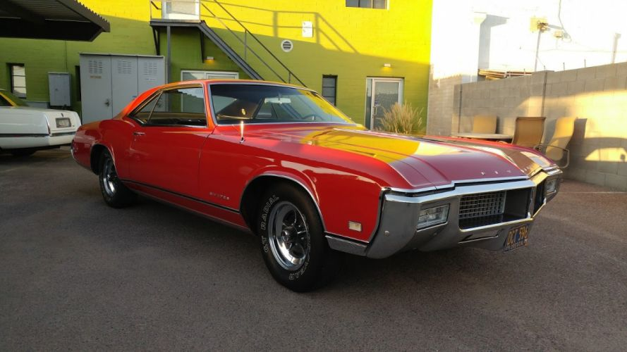 1968 Buick Riviera cars red wallpaper