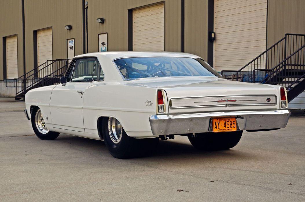 1966 Chevrolet Nova cars white wallpaper