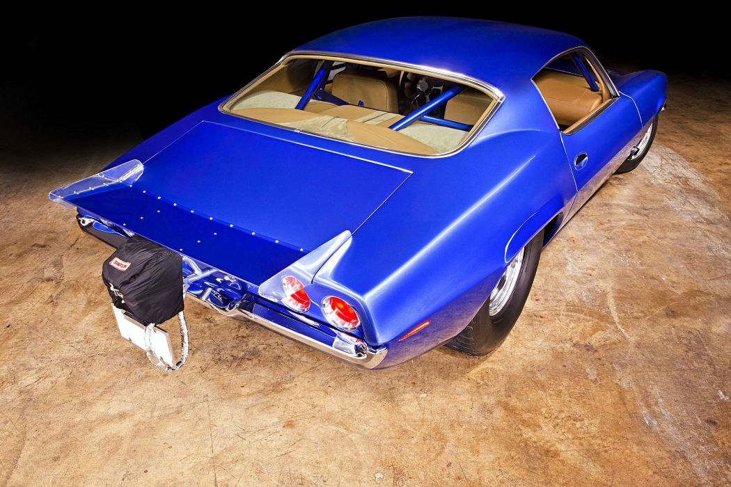 1970 chevy Camaro Pro Street cars blue  wallpaper