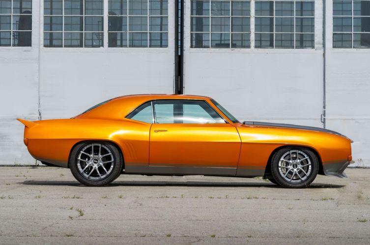 1969 Chevrolet Camaro cars orange modified wallpaper