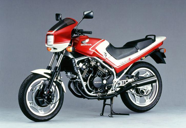 Honda VF400F motorcycles 1982 wallpaper
