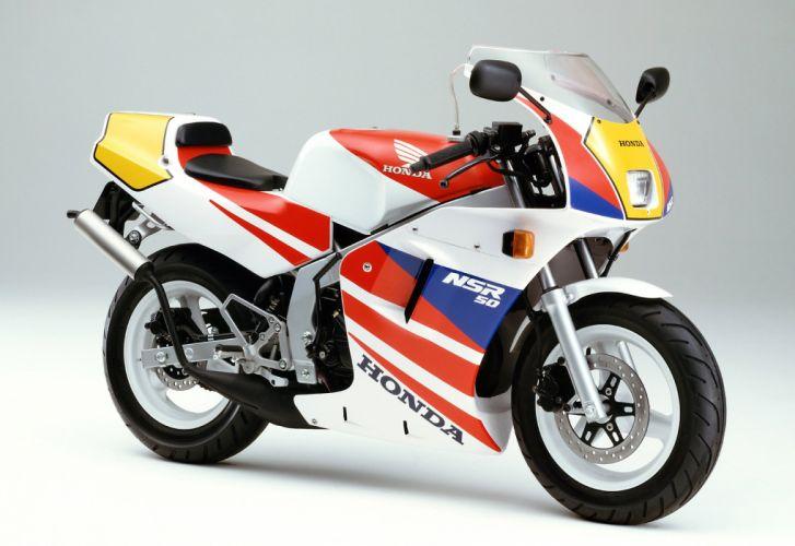 Honda NSR50 motorcycles 1989 wallpaper