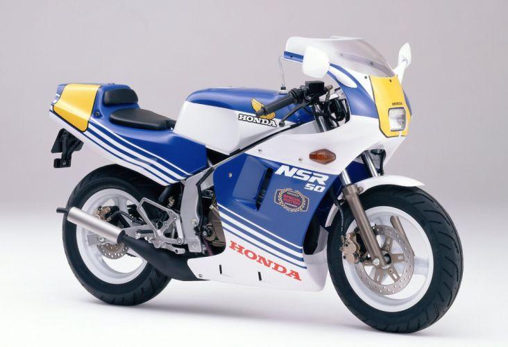 Honda NSR50 Special Edition motorcycles 1988 wallpaper