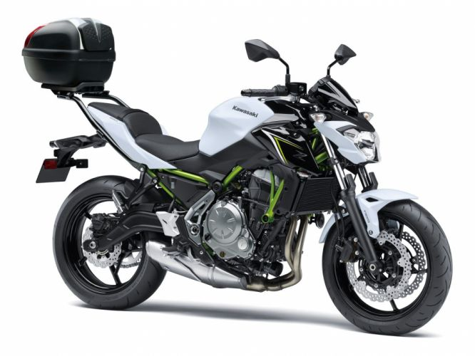 Kawasaki Z650 motorcycles 2017 wallpaper