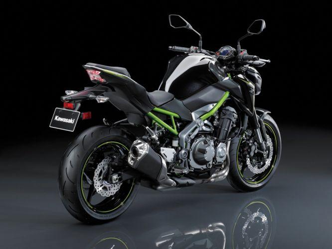 Kawasaki Z900 motorcycles 2017 wallpaper