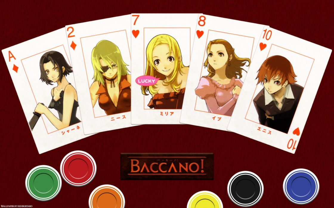 Baccano (4) wallpaper