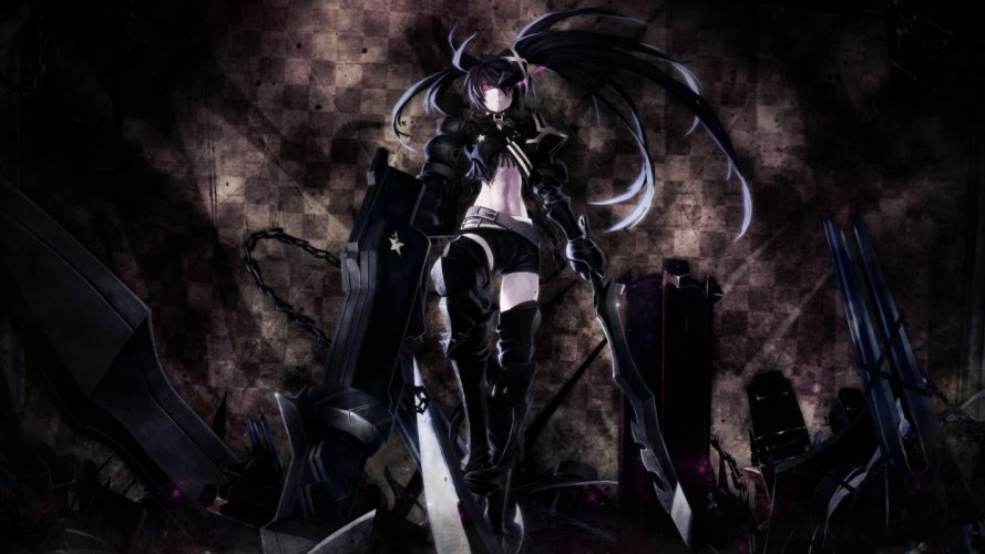Black Rock Shooter (14) wallpaper