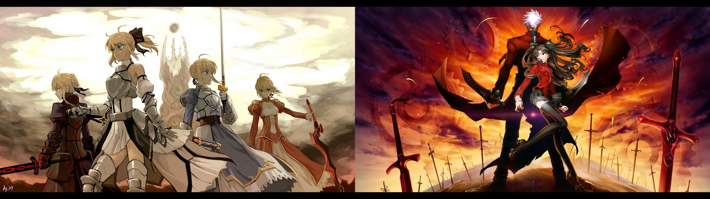 Fate Series 9 Wallpaper 3840x1080 Wallpaperup