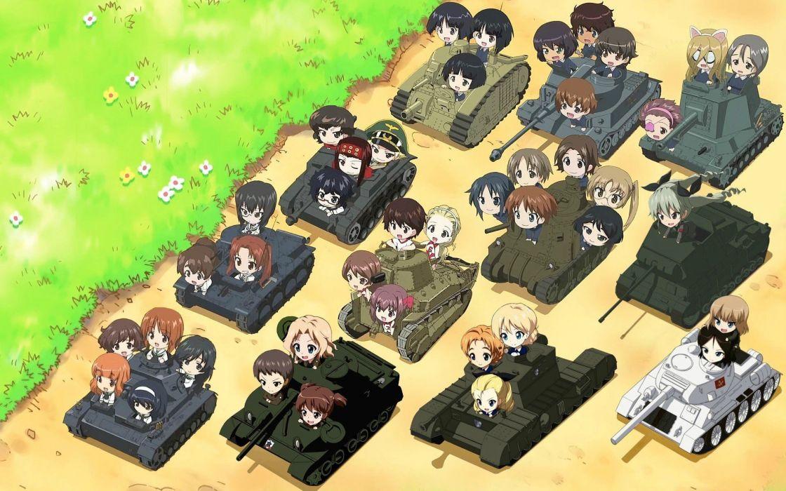 Girls Und Panzer (5) wallpaper