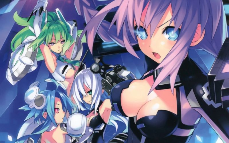 Hyperdimension Neptunia (13) wallpaper