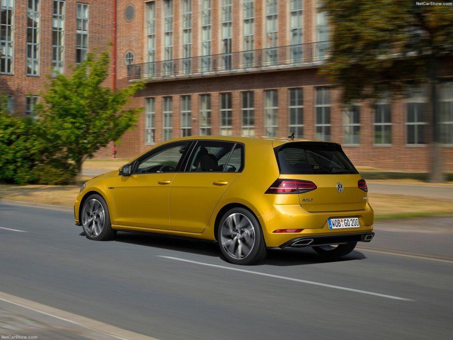 Volkswagen Golf TSI cars 2017 wallpaper