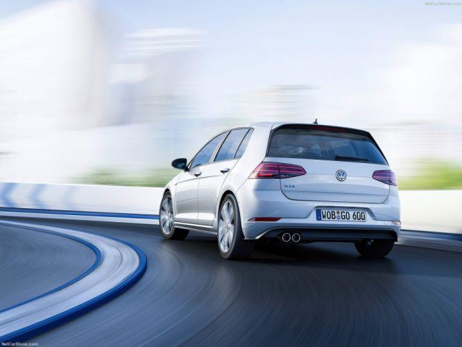 Volkswagen Golf gte cars 2017 wallpaper